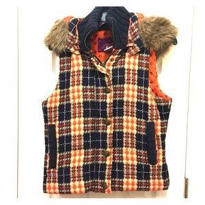 Jack by BB Dakota Plaid Vest